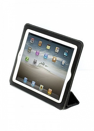 Чехол iSmart Leather Case For iPad 2 (Black)